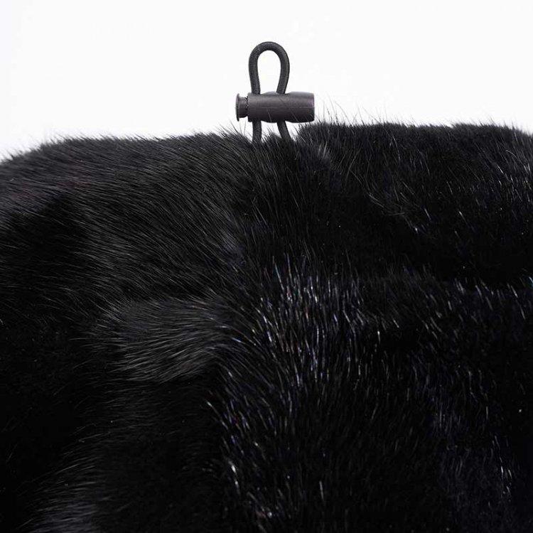 Cappello Nero Regolabile | Nicola Pelliccerie