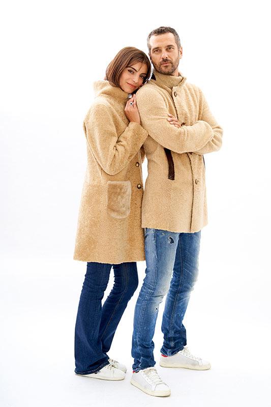 Cappotto shearling pelliccia uomo ragazzo | Nicola Pelliccerie