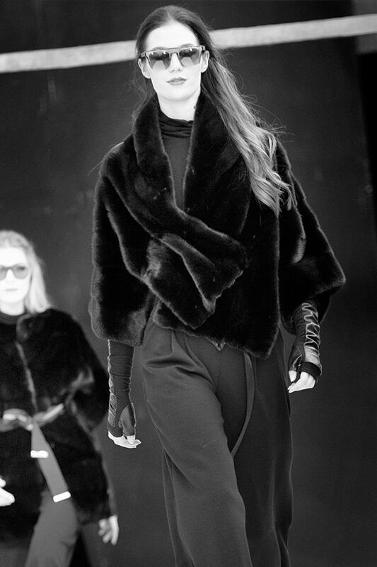Cappotto Pelle Nero su misura | Nicola Pelliccerie
