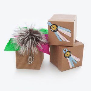 Idea regalo portachiavi pelliccia charms | Nicola Pelliccerie